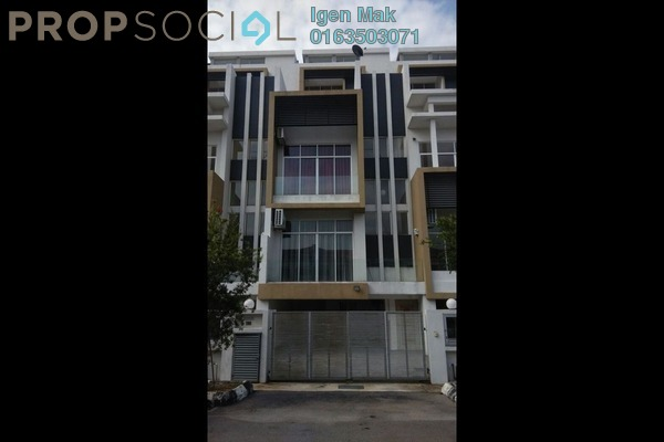 For Rent Superlink at Happy Garden, Old Klang Road Freehold Semi Furnished 5R/6B 3.5k