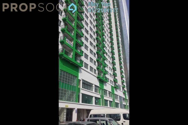 For Rent Apartment at OUG Parklane, Old Klang Road Freehold Semi Furnished 3R/2B 1.5k