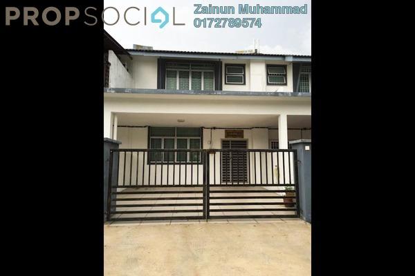 For Sale Terrace at Taman Seri Mas, Hulu Langat Freehold Semi Furnished 4R/3B 550k
