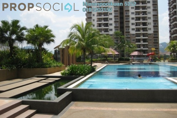For Rent Condominium at Ampang Boulevard, Ampang Freehold Fully Furnished 3R/2B 1.8k