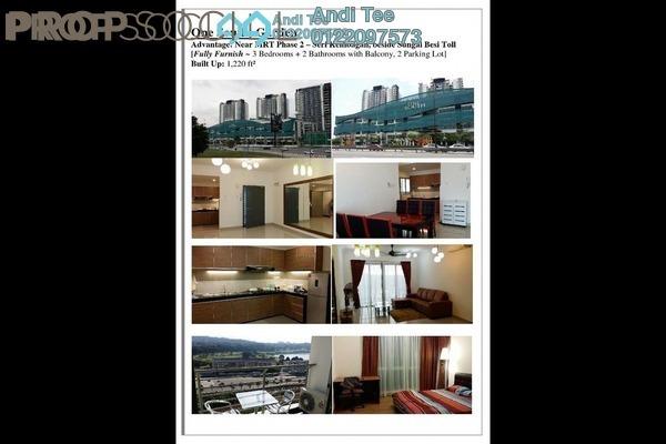 For Sale Condominium at Gardenz @ One South, Seri Kembangan Leasehold Fully Furnished 3R/2B 560k