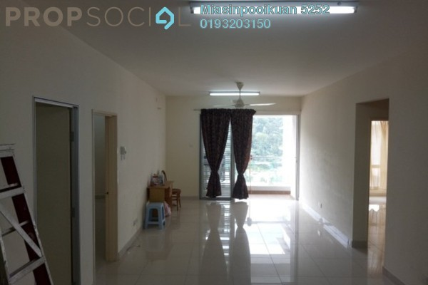 For Rent Condominium at Platinum Hill PV3, Setapak Freehold Semi Furnished 4R/2B 1.8k