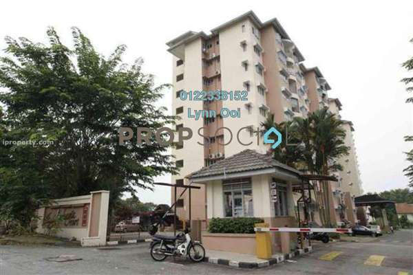 For Sale Apartment at Taman Sri Bahagia, Cheras South Freehold Semi Furnished 3R/2B 325k