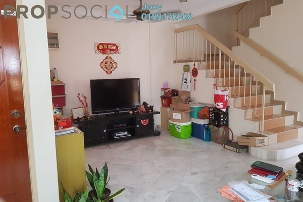 For Sale Terrace at Bandar Tasik Puteri, Rawang Freehold Semi Furnished 4R/3B 580k