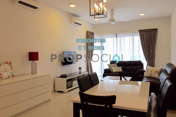 For Rent Condominium at G Residence, Desa Pandan Freehold Fully Furnished 3R/2B 3.2k
