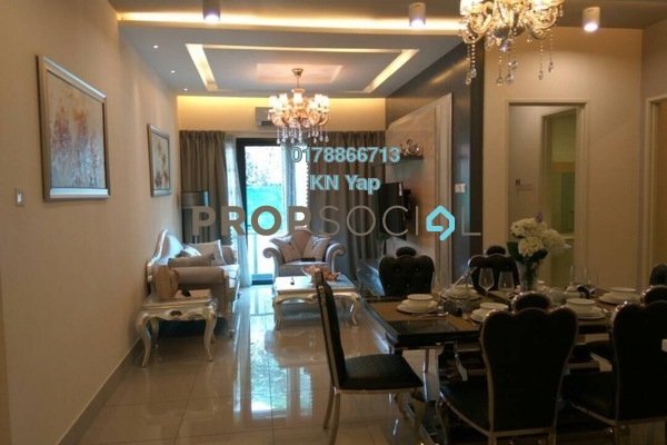 For Sale Serviced Residence at One Residences, Sungai Besi Leasehold Semi Furnished 2R/2B 584k