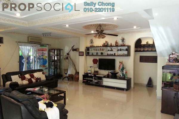 For Sale Terrace at Pearl Avenue, Kajang Freehold Semi Furnished 4R/4B 1.18m