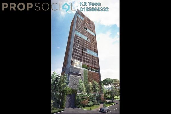 For Sale SoHo/Studio at Ceylonz Suites, Bukit Ceylon Freehold Semi Furnished 2R/2B 560k