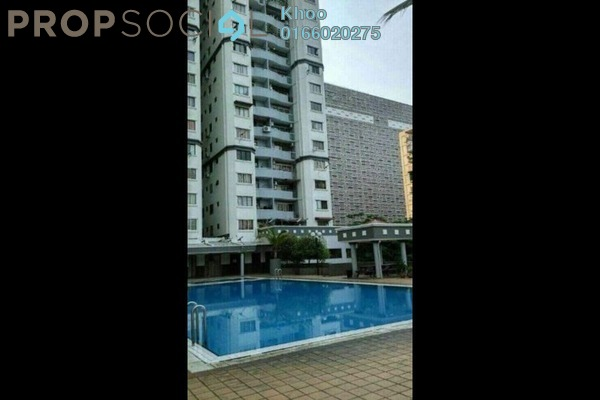 For Rent Condominium at Kenanga Point, Pudu Freehold Semi Furnished 3R/2B 1.7k