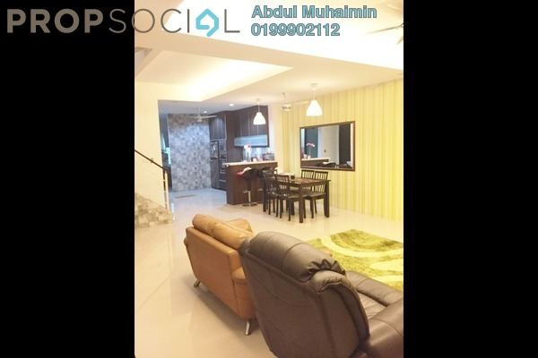 For Sale Terrace at Ken Rimba, Shah Alam Freehold Semi Furnished 4R/3B 720k