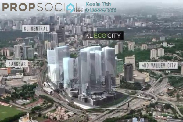 For Rent Office at KL Eco City, Mid Valley City Freehold Unfurnished 0R/0B 4.52k