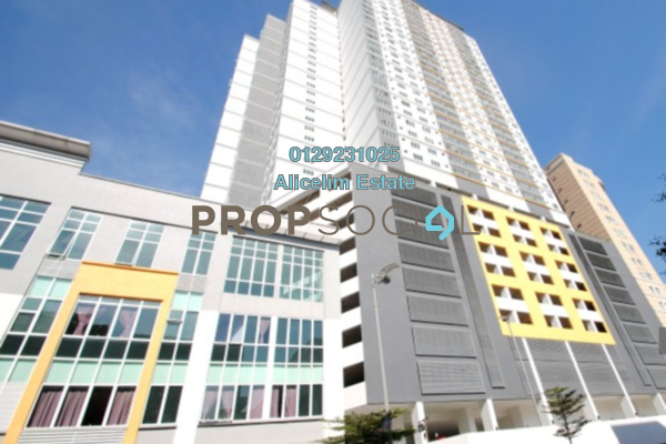For Rent Condominium at Casa Residenza, Kota Damansara Freehold Fully Furnished 3R/2B 1.5k