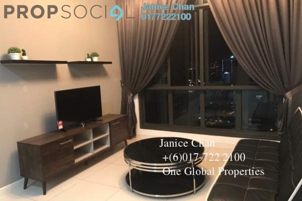 For Rent Condominium at Setia Sky 88, Johor Bahru Freehold Semi Furnished 1R/2B 2.6k