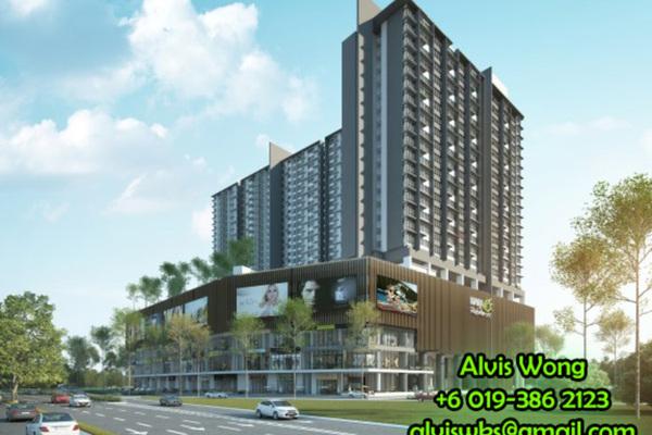 For Sale Condominium at Kiara Plaza, Semenyih Freehold Unfurnished 1R/1B 278k