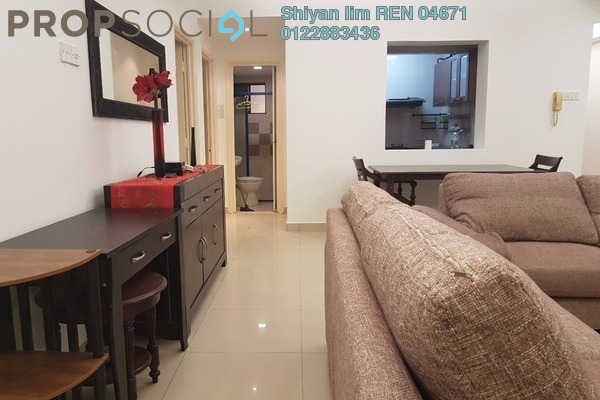 For Rent Condominium at Sri Putramas II, Dutamas Freehold Fully Furnished 4R/2B 2.1k