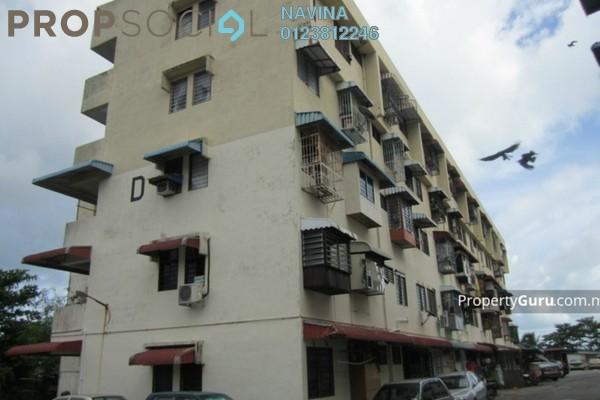 For Sale Apartment at Taman Sri Gertak Sanggul, Teluk Kumbar Freehold Unfurnished 0R/0B 70k