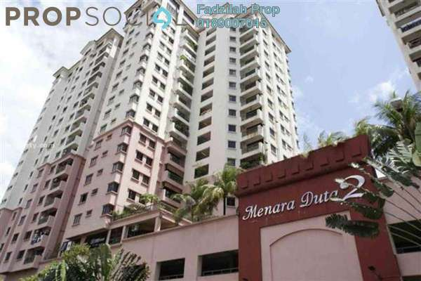 For Rent Condominium at Menara Duta 2, Dutamas Freehold Semi Furnished 3R/3B 1.8k