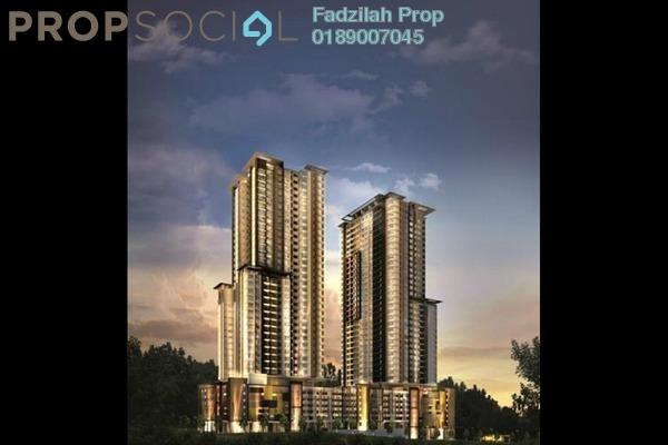 For Rent Condominium at Villa Crystal, Segambut Freehold Semi Furnished 3R/3B 2.2k