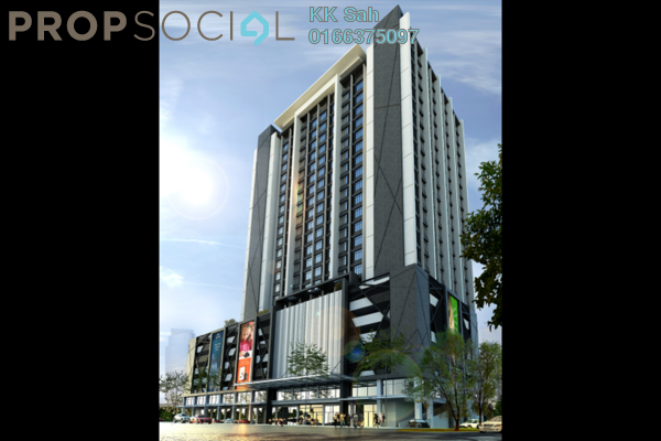 For Rent Condominium at Section 16, Shah Alam Freehold Semi Furnished 1R/2B 800translationmissing:en.pricing.unit
