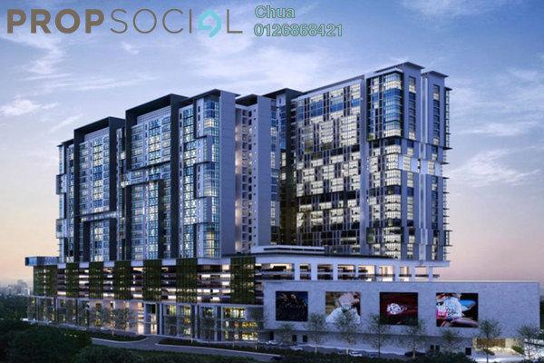 For Rent Condominium at 3 Elements, Bandar Putra Permai Freehold Semi Furnished 2R/2B 1.2k