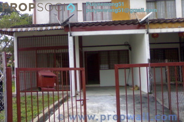 For Rent Semi-Detached at Taman Suria Jaya, Cheras South Leasehold Semi Furnished 4R/3B 1.5k