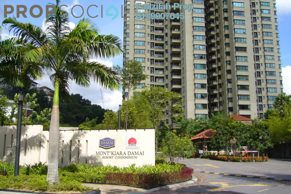 For Sale Condominium at Mont Kiara Damai, Mont Kiara Freehold Semi Furnished 4R/4B 2.1m