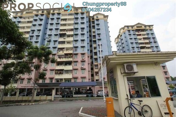 For Sale Apartment at Taman Cheras Utama, Cheras South Freehold Unfurnished 3R/2B 260k