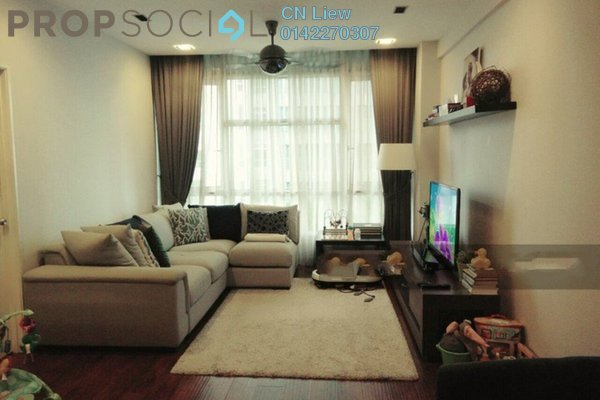 For Rent Condominium at The Saffron, Sentul Freehold Fully Furnished 3R/2B 2.5k