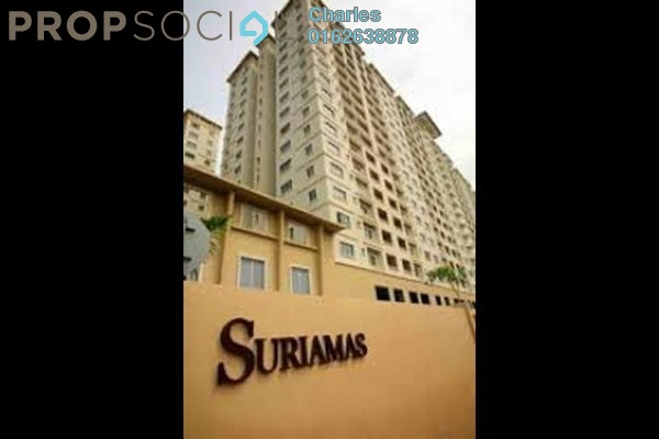 For Sale Condominium at SuriaMas, Bandar Sunway Freehold Unfurnished 4R/2B 500k