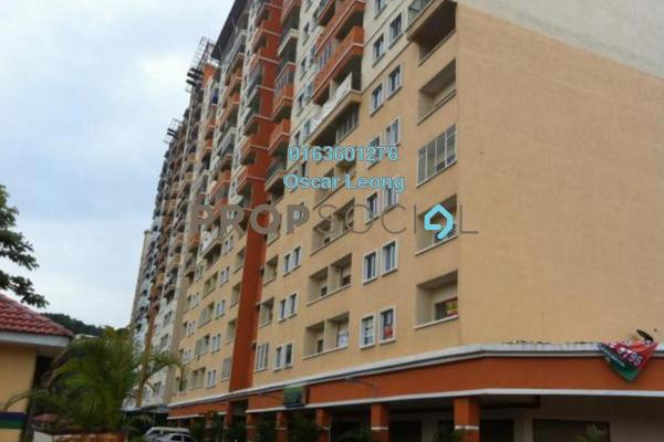 For Rent Condominium at Tara, Ampang Hilir Freehold Semi Furnished 3R/2B 1.1k