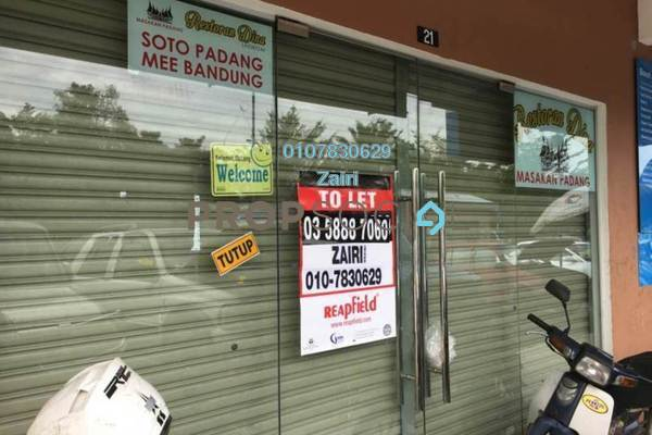 For Rent Shop at Section 30, Shah Alam Freehold Unfurnished 0R/0B 2.6k