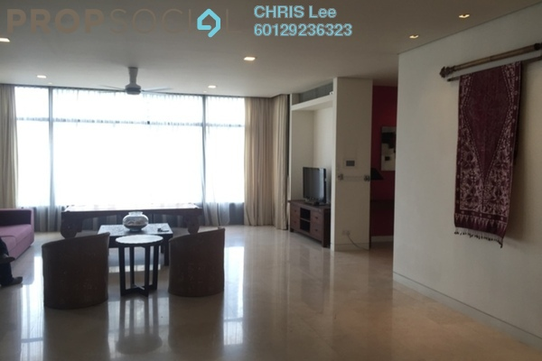 For Rent Condominium at The Troika, KLCC Freehold Fully Furnished 4R/4B 12.5k
