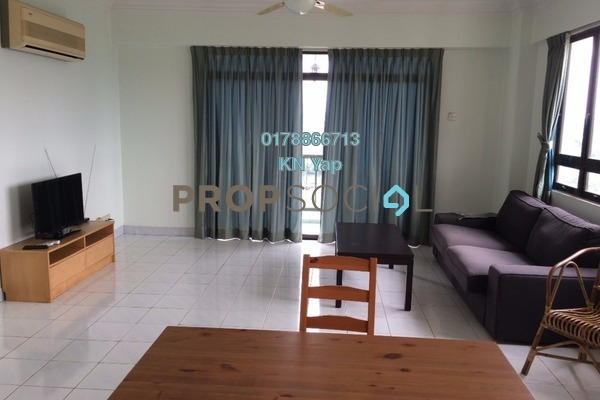 For Rent Condominium at Mutiara Oriental, Tropicana Freehold Fully Furnished 3R/3B 1.6k