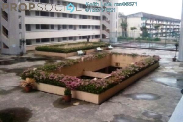 For Rent Condominium at Seri Cendekia Apartment, Cheras Freehold Semi Furnished 3R/2B 1.2k