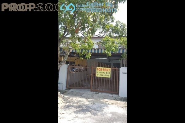 For Rent Terrace at Taman Alam Indah, Shah Alam Freehold Unfurnished 2R/2B 1.2k
