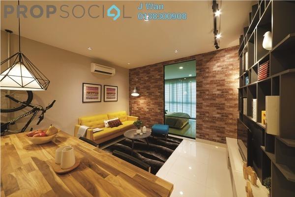 For Sale SoHo/Studio at Liberty Arc @ Ampang Ukay, Ukay Freehold Fully Furnished 1R/1B 320k