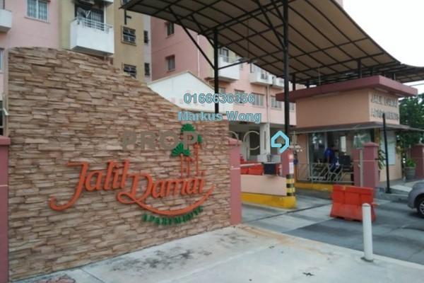 For Rent Condominium at Jalil Damai, Bukit Jalil Freehold Semi Furnished 3R/2B 1.45k