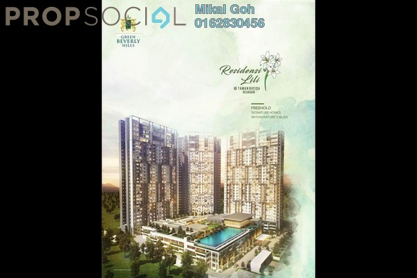 For Sale Condominium at Green Beverly Hills, Putra Nilai Freehold Semi Furnished 3R/2B 340k