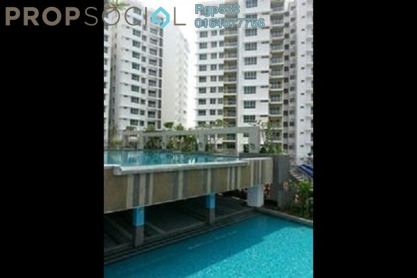 For Rent Condominium at Fiera Vista, Sungai Ara Freehold Unfurnished 3R/2B 1.2k