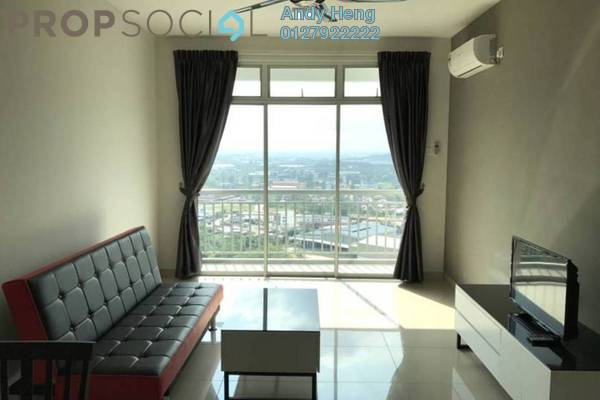 For Rent Condominium at Pandan Residence 1, Johor Bahru Freehold Fully Furnished 1R/1B 1.2k