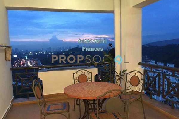 For Rent Condominium at Bayu Angkasa, Bangsar Freehold Fully Furnished 3R/2B 5k