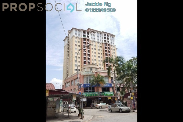 For Sale Apartment at Pudu Impian I, Cheras Leasehold Semi Furnished 3R/2B 199k