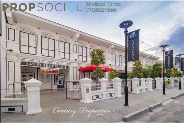 For Rent Shop at Lebuh Tye Sin, Georgetown Freehold Unfurnished 0R/2B 4.7k