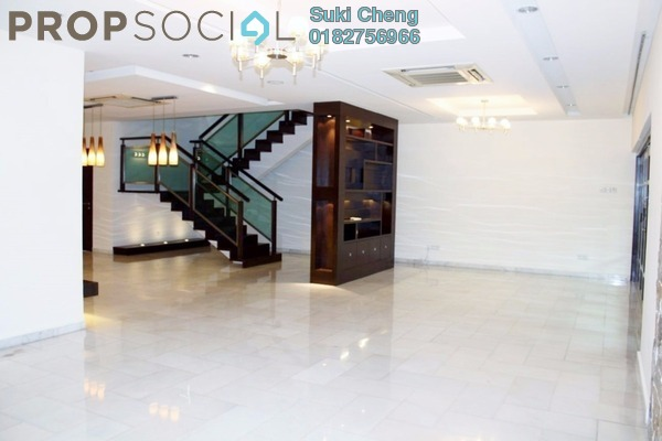 For Rent Semi-Detached at Jelutong Villa, Damansara Heights Freehold Semi Furnished 5R/5B 10k