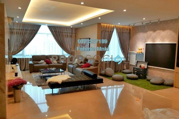 For Rent Condominium at Sunway Vivaldi, Mont Kiara Freehold Fully Furnished 5R/6B 16k