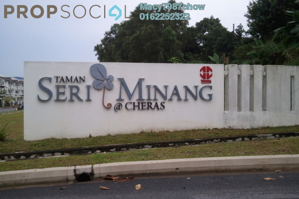 For Sale Semi-Detached at Taman Seri Minang, Cheras South Freehold Fully Furnished 6R/5B 1.2m