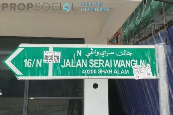 For Sale Shop at Seksyen 16, Bandar Baru Bangi Freehold Unfurnished 0R/6B 1.78m