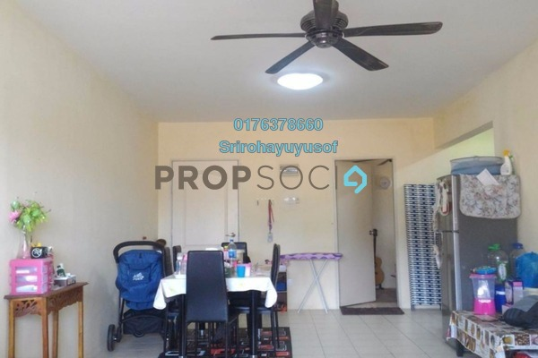 For Sale Apartment at Lakeview Apartment, Batu Caves Freehold Semi Furnished 3R/2B 270k