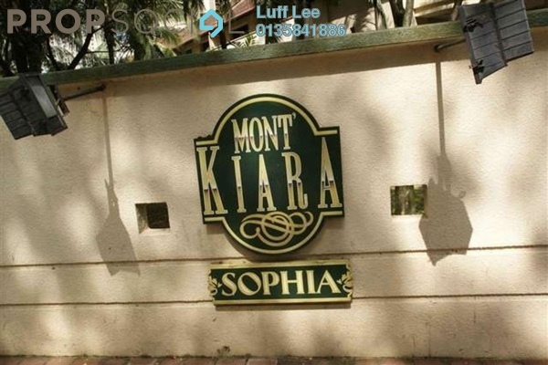 For Rent Condominium at Mont Kiara Sophia, Mont Kiara Freehold Fully Furnished 2R/2B 3.9k