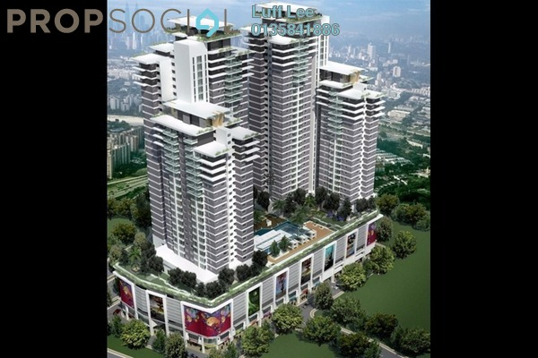 For Sale Condominium at Maxim Residences, Cheras Freehold Unfurnished 3R/2B 530k